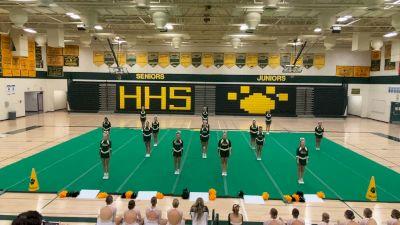 Horizon High School [Varsity Show Cheer Intermediate] 2021 USA Virtual West Coast Spirit Championships