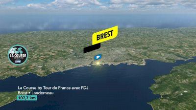 Flythrough: 2021 La Course By Le Tour de France