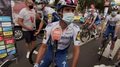 Julian Alaphilippe Before Stage 1 (French)