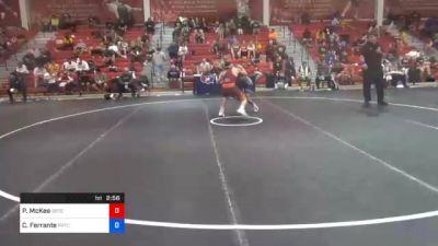 61 kg Prelims - Patrick McKee, Gopher Wrestling Club - RTC vs Carmen Ferrante, Pennsylvania RTC