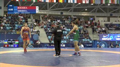 110 kg 1/8 Final - Artur Boichuk, Ukraine vs Laszlo Darabos, Hungary