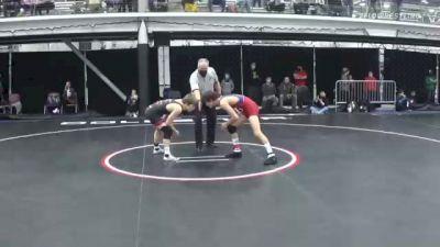 126 lbs Semifinal - Cameron Catrabone, Spartan WC vs Stevo Poulin, Journeymen
