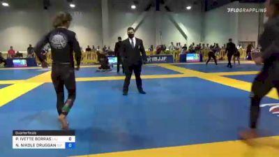 PAIGE IVETTE BORRAS vs NATASHA NIKOLE DRUGGAN 2021 American National IBJJF Jiu-Jitsu Championship