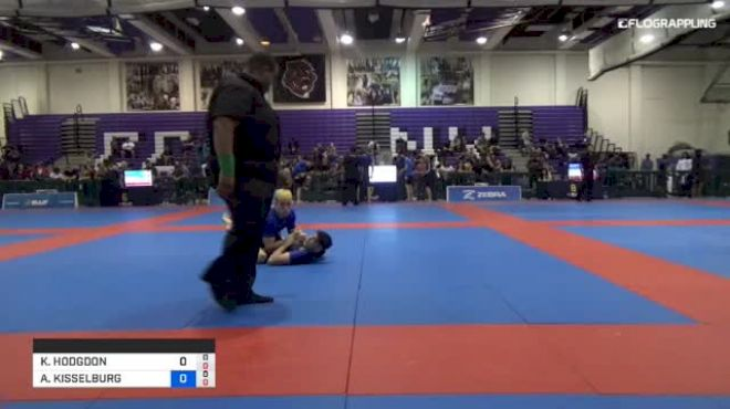 KYLE HODGDON vs ANDREW KISSELBURG 2018 Pan Jiu-Jitsu IBJJF No Gi Championship