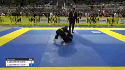 OSCAR LEONARDO GUERRERO vs CHRISTIAN JAMES JELLE 2021 Pan Kids Jiu-Jitsu IBJJF Championship