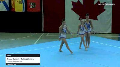 Gray / Sabeeh / BaksaWiltshire - Group, Oakville Gymnastics Club - 2019 Canadian Gymnastics Championships - Acro