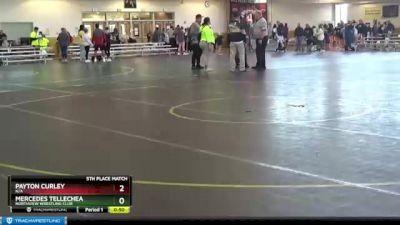 94 lbs Round 4 - Paola Villarruel, N/A vs Kaela Beckley, Northview Wrestling Club