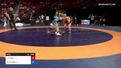 62 kg Quarters - Jennifer Page, Titan Mercury Wrestling Club vs Desiree Zavala, Washington