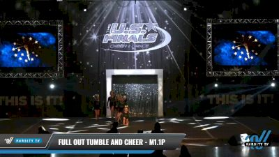 Full Out Tumble and Cheer - M1.1P [2021 L1.1 Mini - PREP - D2 - A Day 1] 2021 The U.S. Finals: Louisville