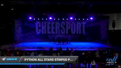 Python All Stars Striped Pythons [2021 Youth 1] 2021 CHEERSPORT: Atlanta Grand Championship