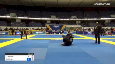 Jackson Sousa vs Gordon Ryan 2018 World IBJJF Jiu-Jitsu No-Gi Championship