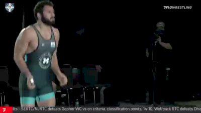 86 kg Final - Nate Jackson, NJRTC/SERTC vs Myles Amine, Cliff Keen Wrestling Club