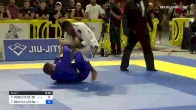 YAGO VINICIUS DE SOUZA vs TAINAN DALPRA COSTA 2021 Pan Jiu-Jitsu IBJJF Championship