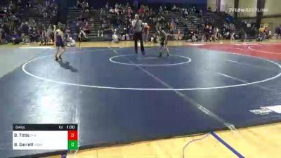 84 lbs Semifinal - Bentley Tittle, Troup Youth Wrestling vs Bo Garrett, Roswell Wrestling Club