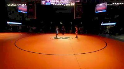 120 lbs 5th Place - Paul Kelly, California vs Christian Tanefeu, North Dakota
