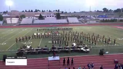 """Troopers """"Casper WY"""" at 2021 Drums Along the Rockies - Cheyenne Edition"""