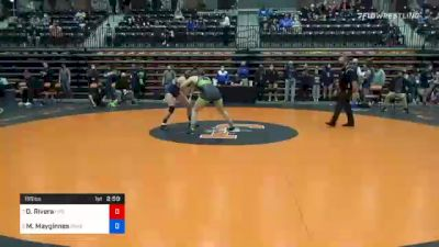 155 lbs Quarterfinal - Destinee Rivera, Life vs Morgan Mayginnes, Baker