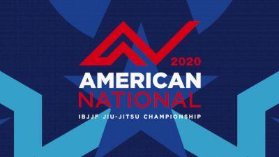 Full Replay - IBJJF American Nationals - Mat 2 - Dec 6, 2020 at 11:52 AM CST