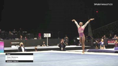 Zoey Molomo - Floor, Metroplex Gym - 2021 GK US Classic & Hopes Championship