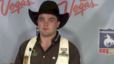 O'Connell's First NFR Round Win