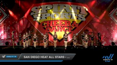 San Diego Heat All Stars - Sparks [2020 L1 Youth - D2 - Small Day 2] 2020 Spirit Sports: Duel In The Desert