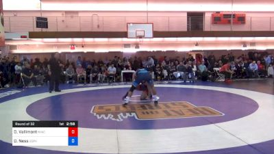 74 kg Prelims - Dan Vallimont, New York Athletic Club vs Dylan Ness, Gopher Wrestling Club - RTC