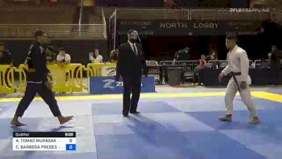 ANDY TOMAS MURASAKI PEREIRA vs CESAR BARBOSA PREDES JÚNIOR 2020 Pan Jiu-Jitsu IBJJF Championship