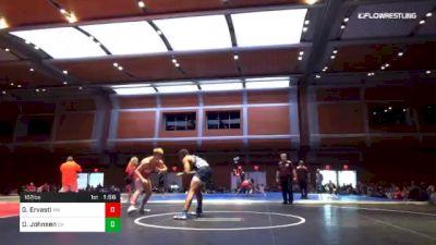182 lbs Final - Gideon Ervasti, MN vs Dezi Ray Johnsen, CA