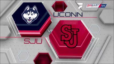 Replay: St. John's vs UConn | Sep 23 @ 7 PM