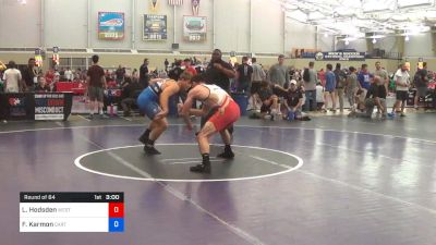 79 kg Round Of 64 - Luke Hodsden, West Point RTC vs Foster Karmon, Stanford - California RTC