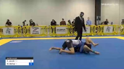 Ernest Jacob vs Malik Belhaj 2020 Atlanta International Open IBJJF Jiu-Jitsu Championship