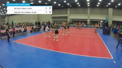 K2 Volleyball Club vs Far Out Volleyball CLub - 2018 JVA World Challenge, 15 Gold