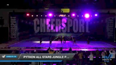 Python All Stars Jungle Pythons [2021 Mini 1.1 Prep] 2021 CHEERSPORT: Atlanta Grand Championship