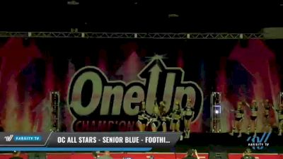 OC All Stars - Senior Blue - Foothill Ranch [2021 L3 Senior - Small Day 1] 2021 One Up National Championship