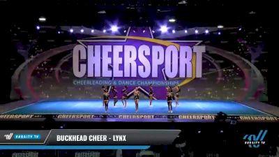 Buckhead Cheer - Lynx [2021 L3 Senior - D2 - Small Day 1] 2021 CHEERSPORT National Cheerleading Championship