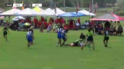 Rhinos Academy U14 Girls Black vs. Majestics - 2021 NAI 7s - Pool Play