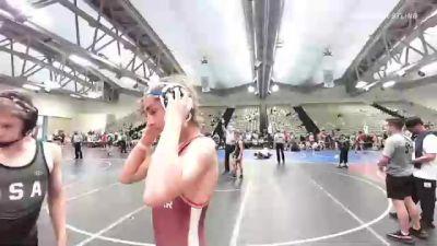 96 lbs 2nd Place - Matthew Lichter, Mac Arthur vs Andrew Krajic, Tech Squad