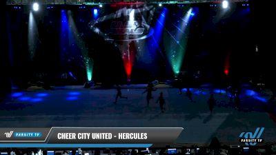 Cheer City United - HERCULES [2021 L1.1 Mini - PREP - Small Day 2] 2021 The U.S. Finals: Pensacola