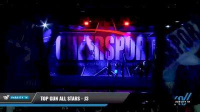 Top Gun All Stars - J3 [2021 L3 Junior - Medium - A Day 2] 2021 CHEERSPORT National Cheerleading Championship