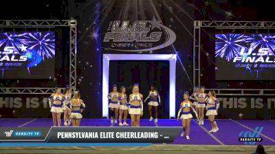 Pennsylvania Elite Cheerleading - Generation X [2021 L5 Senior Coed Day 2] 2021 The U.S. Finals: Ocean City