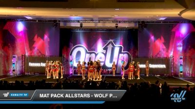 Mat Pack Allstars - Wolf Pups [2019 Mini - D2 1 Day 2] 2019 One Up National Championship