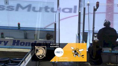 Full Replay - Army vs AIC | Atlantic Hockey