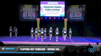 Flipping Out Tumbling - Double or Nothing [2021 L6 Senior Coed - XSmall Day 2] 2021 ACDA: Reach The Beach Nationals