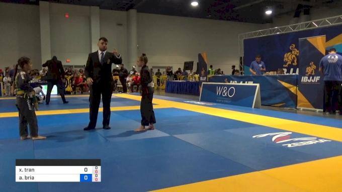 Xuan Tran Graham Vs Addison Bria Arthur 2019 American National Ibjjf Jiu Jitsu Championship