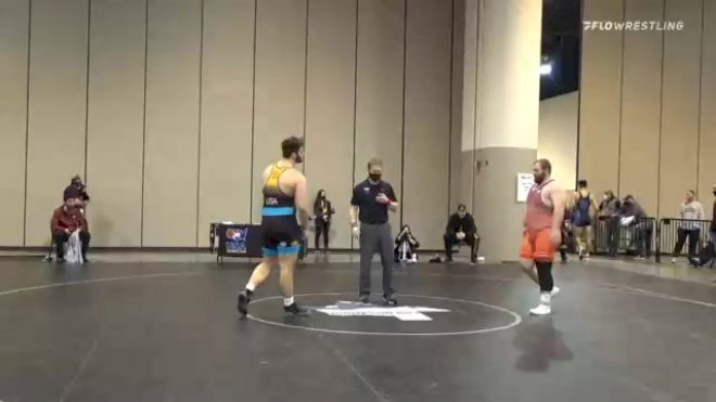 125 kg Consolation - Aaron Costello, Hawkeye Wrestling Club vs Francis Duggan, Cyclone Regional Training Center C-RTC
