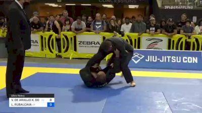 VIKTOR DE ARAUJO K. DORIA vs LUIS RUBALCAVA 2021 Pan Jiu-Jitsu IBJJF Championship