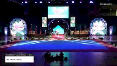 Northeast Vikings [2020 Core Cheer 1 - Junior Peewee Day 1] 2020 Pop Warner National Cheer & Dance Championship