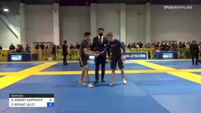 GAVYN ROBERT GAPPMAYER vs PHARRELL BRYANT SULIT 2021 American National IBJJF Jiu-Jitsu Championship
