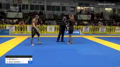 CHLOÉ MCNALLY vs AMY SCOT CAMPO 2020 American National IBJJF Jiu-Jitsu Championship