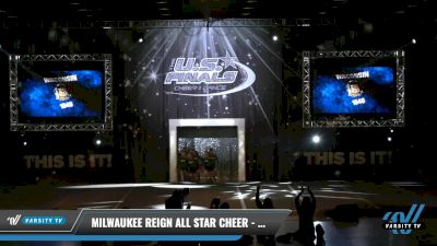 Milwaukee Reign All Star Cheer - MINI MONARCHY [2021 L1.1 Mini - PREP - D2 - A Day 1] 2021 The U.S. Finals: Louisville